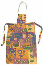 Children's Kitchen and Dining Apron in Floral Pattern