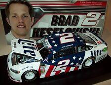 Brad Keselowski 2018 Miller Lite Patriotic #2 Penske Ford 1/24 NASCAR Diecast