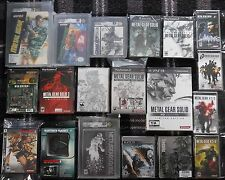 Metal Gear Solid Collection *SEALED* NES IBM Game Boy Color PS2 PS3 HD 1 2 3 4