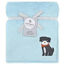 New listing Nwt New Baby Boys Soft Cozy Sherpa Fleece Blue Puppy Blanket