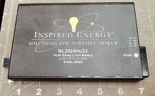 NL2024HU22 14.4V Li-Ion Rechargeable Battery INSPIRED ENERGY S/N 21134 NEW [OFB8