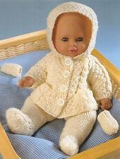 Dolls Clothes DK Knitting Pattern
