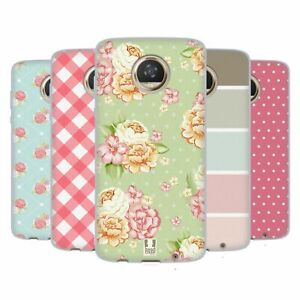 HEAD CASE DESIGNS FRENCH COUNTRY PATTERNS SOFT GEL CASE FOR MOTOROLA PHONES