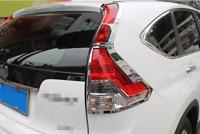 for Honda CR-V 2012 2013 2014 Chrome Rear Tail Light Lamp Cover Trim 4pcs ABS