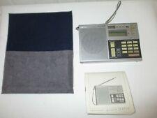 Sony ICF-7600 D Receiver, Radio, Weltempfänger mit Anleitung und Tasche