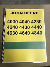4040 John Deere Technical Service Shop Repair Manual Condensed