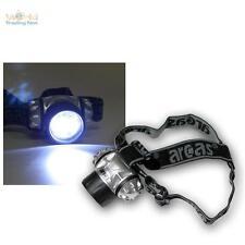 LED Lampe Frontale/Lampe de casque mit 9 LEDs frontale incl. batteries