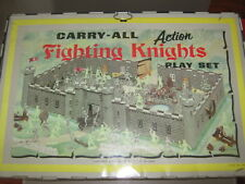 Marx knights and vikings castle 1968 carry case type no 4635 very good cond rare