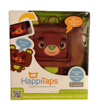 NEW Infantino HAPPITAPS Brown Teddy iPhone 4 4S 3GS iPod Touch Smartphone Case