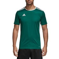Boys Adidas Entrada 18 Climalite Short Sleeve T Shirt Top Football Youth Junior