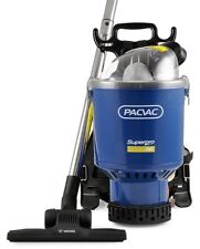 PACVAC Superpro 700 Commercial Dry Backpack Vacuum Cleaner with 10 Paper bags
