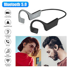 Bone Conduction Headset Bluetooth 5.0 Wireless Outdoor Sport Open Ear Headphones