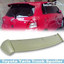 Unpainted Fit For Toyota Yaris XP90 2D 4D HatchBack S-look Rear Trunk Spoiler