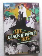 101 Black and White hits Video Songs 3 DVD India Bollywood