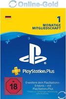PSN Karte 1 Monat 30 Tage Playstation Plus Network - 1 Month PSN Card Key [DE]