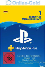 PSN Karte 1 Monat 30 Tage Playstation Plus Network - 1 Month PSN Card Key [DE]