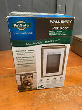 PetSafe Wall Entry Aluminum Pet Door Small Ppa11-10915 Brand New ! No Box!