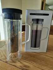 Andronicas Cold Coffee Maker Ice Tea Pitcher Jug Glass 850ML