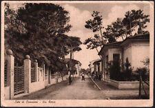 cartolina LIDO DI CAMAIORE via roma