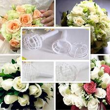 Hot Bridal Wedding Party Bouquet Holder Decoration Floral Flower Handle CA