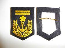 e2653s WW2 Japan Japanese Navy Marines Sleeve Rank Petty Officer 1st class R17A