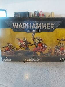 Warhammer 40k Orks Squighog Boyz Games Workshop