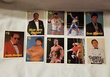 Lot of 9 Classic WF Wrestling Cards