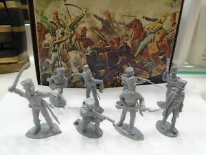 Prussian Infantry Napoleonic Grenadiers TIMPO plastic toy soldiers.FREE SHIPPING