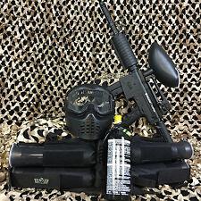 NEW Kingman Spyder MR6 EPIC Paintball Marker Gun Package Kit - Diamond Black
