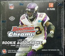 2008 BOWMAN CHROME NFL FOOTBALL HOBBY 10 BOX CASE MATT RYAN FORTE FLACCO JORDY