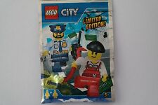 Lego City 951701 Polizei Polizist Dieb Limited Edition Polybag NEU