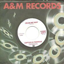 "New listing Captain & Tennille-I'm On My Way(PROMO)-45 RPM-7""-single-pop-vinyl-record"