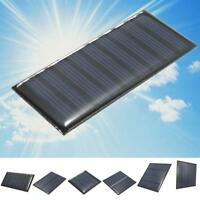 2/5/5.5/6/9V DIY Solar Panel Module System Toy For Battery Cell Phone Charger UP