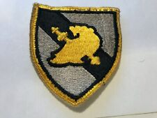 US Army Military Academy West Point USMA Cadre COLOR patch vintage