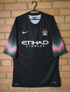 Manchester City Jersey Goalkeeper Player Issue Authentic Size XL Nike Shirt