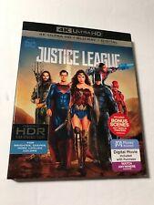 New listing Justice League 4K Uhd Blu-ray - Dc Comics - wonder woman superman flash aquaman