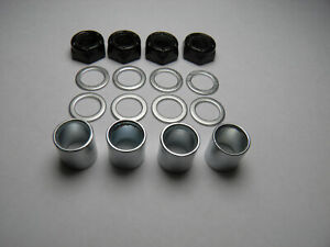 Skateboard Bearing Spacers, Speed Rings and Axle Nuts