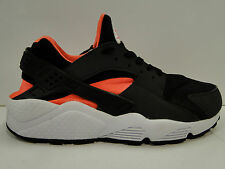 NIKE AIR HUARACHE Blk Total Orange Anthracite Mens RUNNING Trainers  318429/081