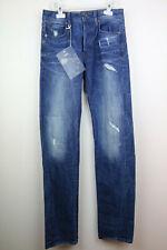 G-Star Raw 3301 Accel Stretch Denim Aged Destroy Mens Slim Fit Jeans W26 L34