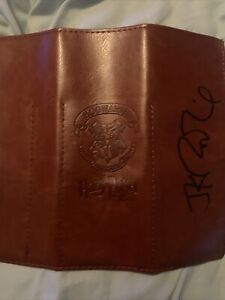 Harry Potter J.K.Rowling Signed Autographed Hogwarts Pouch With COA
