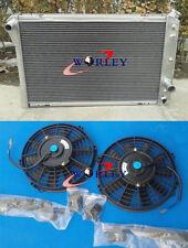 1982-1992 CHEVY CAMARO / PONTIAC FIREBIRD TRANS AM V8 ALUMINUM RADIATOR + FANS