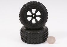 BSD Racing 1/10th Scale Wheel and Tyre Set (Pair) - BS709-002