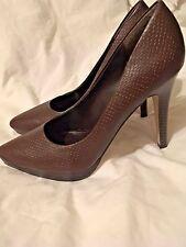 Wild Diva Women's High Heel Stilletto Shoes Brown Size 8 NWOB
