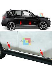 CROMATURE ADESIVE BMW X3 F25 2010+ MODANATURE SPORTELLI LATERALI ACCIAIO INOX