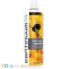 Continuum Reef Basis Calcium Liquid 250mL Concentrated Ionic Calcium Supplement