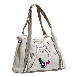 Houston Texans NFL Football Team Ladies Embroidered Hoodie Purse Handbag