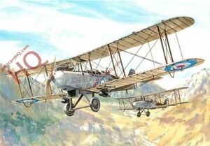 Picture Postcard, DH.9, TONY THEOBALD