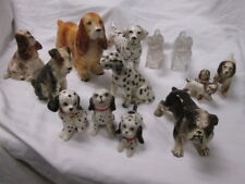 Vintage Porcelain China Dog Figurines Made in Japan Bulldog Spaniels Dalmations+