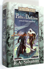 R.A. Salvatore FORGOTTEN REALMS PATHS OF DARKNESS VOL. 1-4 COLLECTOR'S EDITION