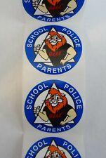 Lot of 20 Daren Lion D.A.R.E. Stickers, Drug Abuse Resistance Education School